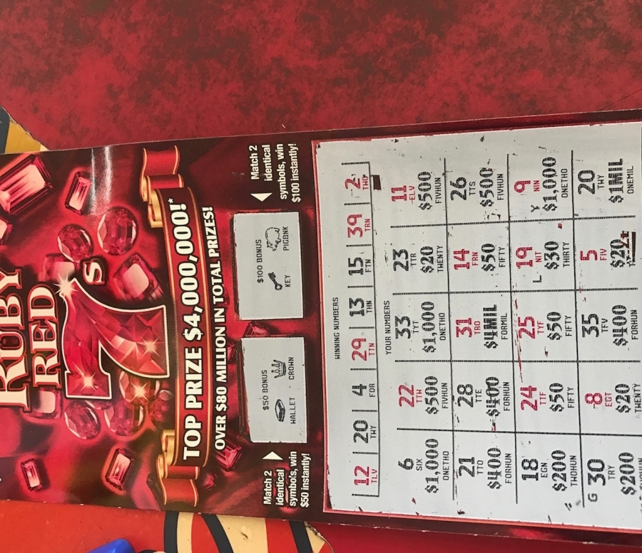 Woman claims $1 million scratcher bought at Bobby's