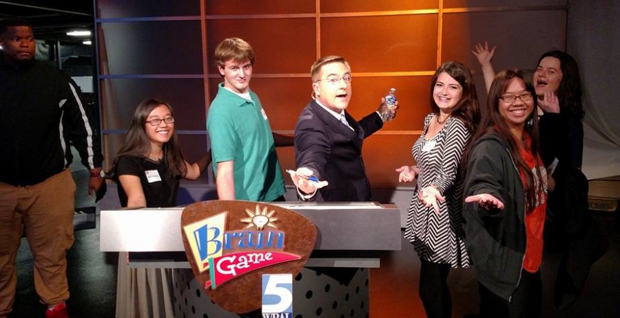 Yellow Jackets compete on Brain Game show