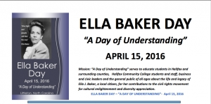 Baker's civil rights legacy comes to forefront Friday