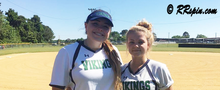 Halifax Academy's 2017 seniors Drew Rose and Karen Alston