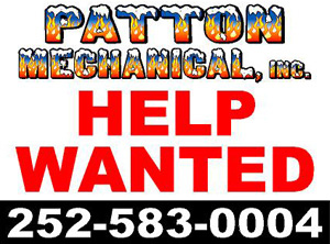 Patton Mechanical Help Wanted