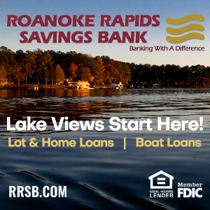 Roanoke Rapids Savings Bank RRSB Lake