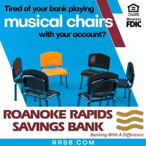 Roanoke Rapids Savings Bank RRSB Musical Chairs