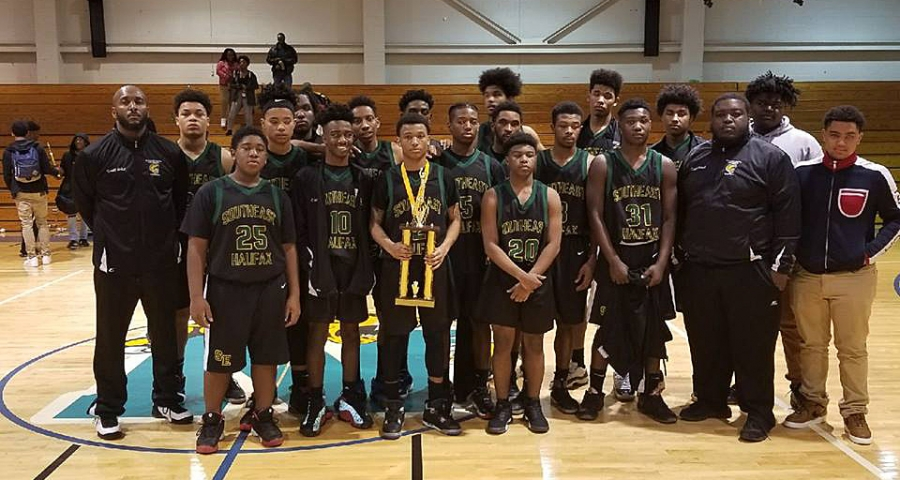 Southeast Halifax boys basketball team earns second place in the 2017 Northampton County Holiday Classic