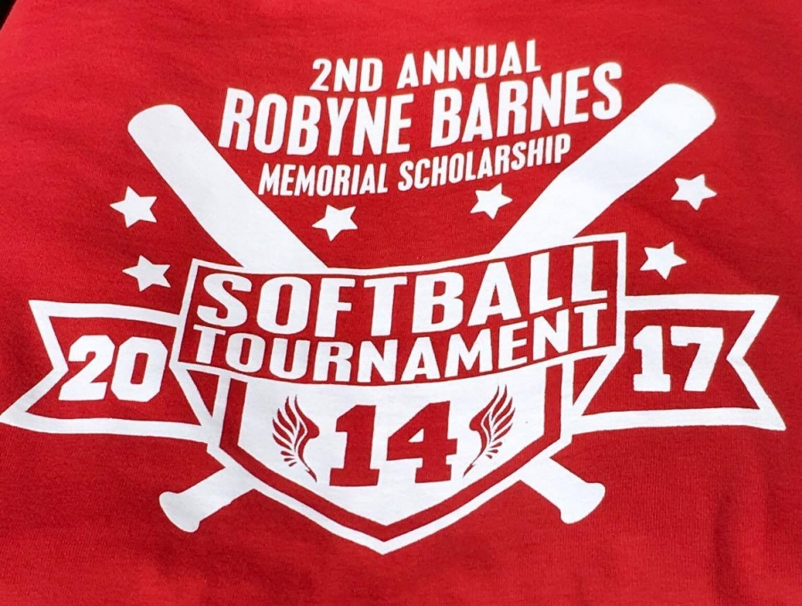 Honoring Robyne on the diamond