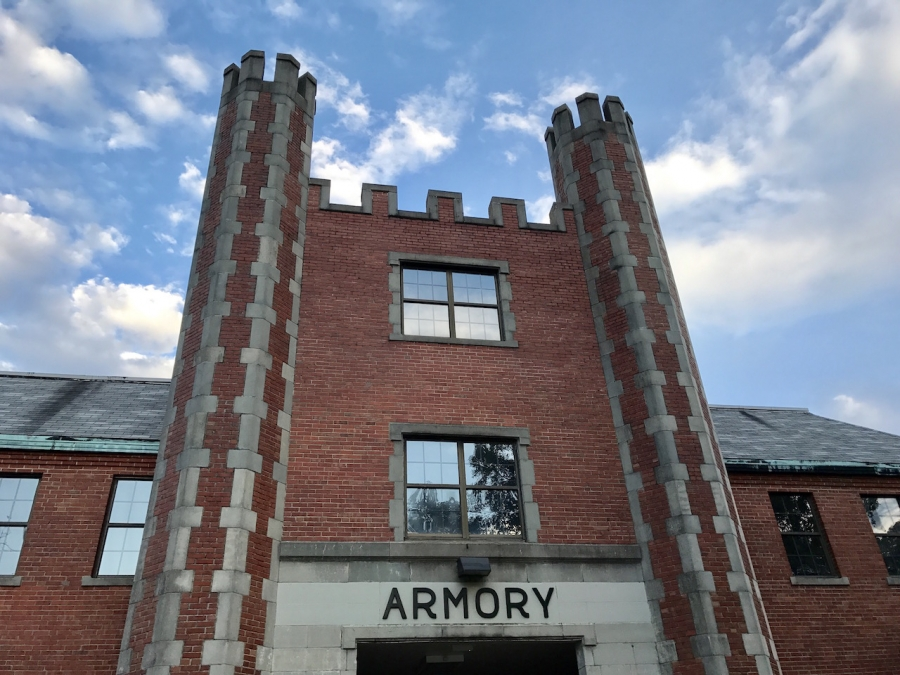 The armory.