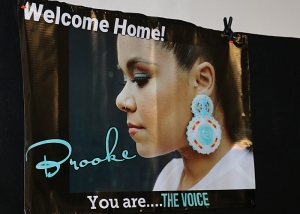 Welcome home Brooke Simpson photo gallery