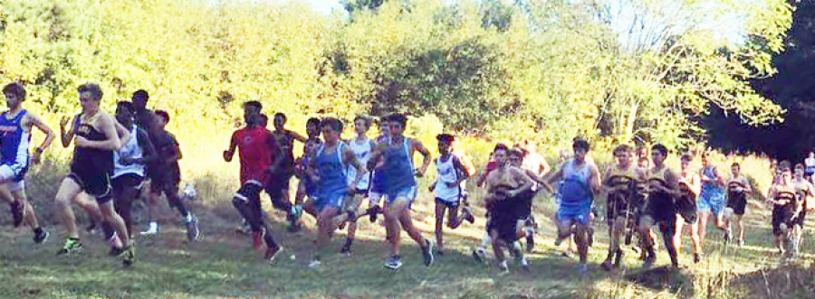 Jackets cross country action