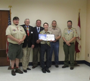 SAR recognizes Eagle recipient